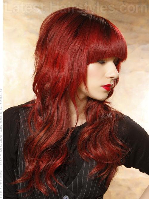 beyaz tenlilere yakışan saç renkleri 12